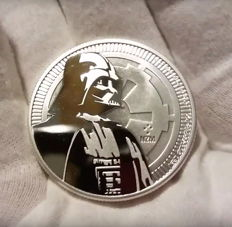Niue - $2 - Star Wars - Darth Vader - 1 oz 999 silver - silver coin - edition of only 250,000 coins
