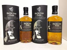 2 bottles - Highland Park Leif Eriksson Limited Edition