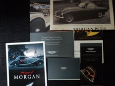 6 original Morgan brochures and 1 Blanco original Morgan letterhead