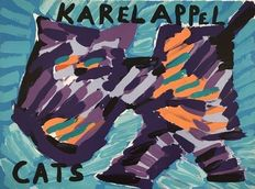 Karel Appel - Cats