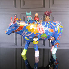 CowParade - Cow Alegria Invernal Large - Carol W