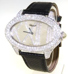 "Chopard ""cat's eye"" with mirror dial and diamonds - (our internal #7687)"