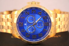 Constantin Durmont Noblesse 'Blue gold' - men's wristwatch