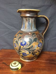 Huge large earthenware jug, Germany second half 20th century