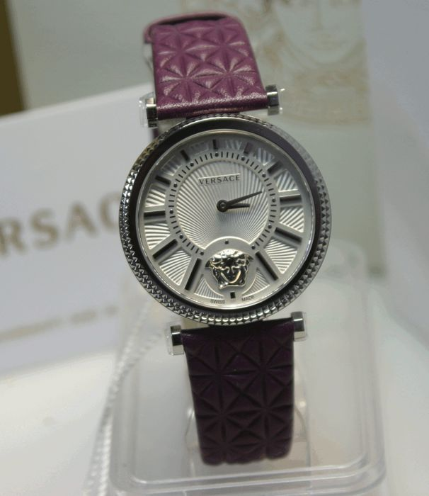 Versace V-Helix VQG01 - women's wristwatch without visible crown, never worn