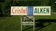 Advertising sign Cristal Alken 1961