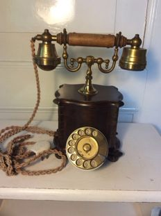 Beautiful nostalgic telephone