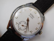 TECHNOS – SWISS MADE – 21 jewels – Men's wristwatch from the 1950s