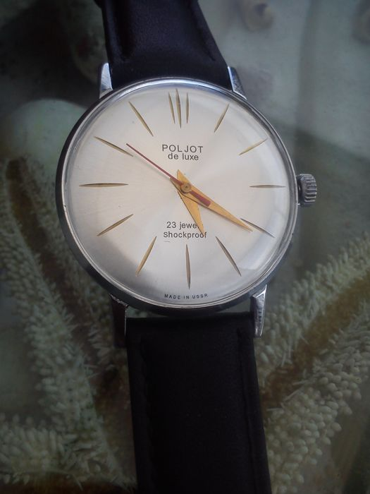 POLJOT DE LUXE SLIM – Russian USSR men's watch from 1968