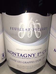 2014 Montagny 1er Cru Feuillat Juillot Cuvee les Grappes D'OR. 6 bottles in OWC