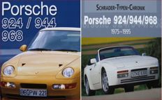 2 Books on Porsche 924 / 944 / 968