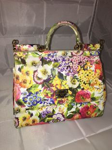 Dolce&Gabbana – Miss Sicily Floral – Handbag / Shoulder bag