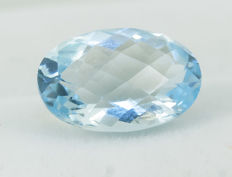 Topaz Sky Blue - 6,92 ct - No Reserve Price