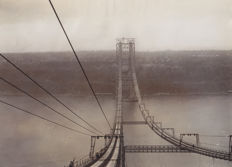 Unknown/AP and Pacific&Atlantic Photos - George Washington Bridge under construction - 1929 and 1930