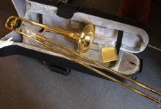 New ChS Bb tenor trombone with hard foam case