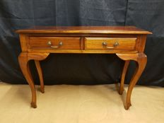 Wall table with two drawers, late 20th century