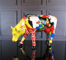CowParade - Homage to Picowso's African Period Large - Annalie Dempsey