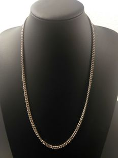 Silver necklace 925, length 60 cm, width 3 mm, weight 30 grams