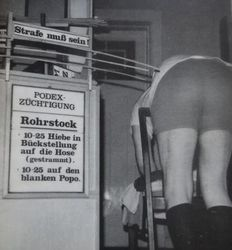 BDSM; Lot with 14 German magazines about spanking-1997/1998