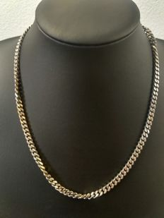 Silver necklace 925k, length 50 cm, width 4 mm, weight 38 grams