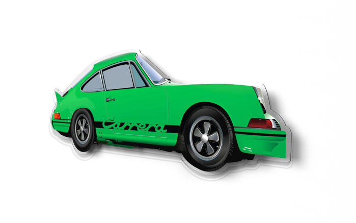 Decorative object - SL-Halmo Collection Porsche 911 2.7 RS - 2018