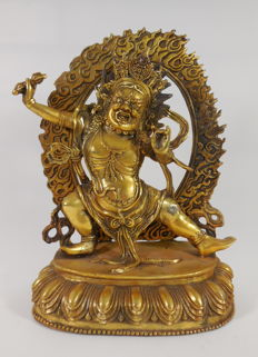 Bronze Vajrapani – Nepal/Tibet – Late 20th/early 21st century