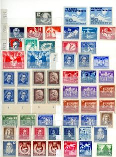 Alemanha DDR 1949/1989  – Collection of stamps.