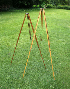Wooden tripods 1900