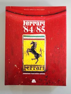 Official Ferrari yearbook 84/85 (Italian - English - French)
