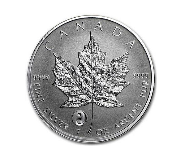 Canada - 5 CAD - maple leaf 2016 - Privy mark Yin Yang - reserve proof