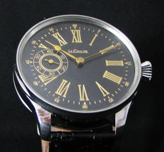Le Coultre marriage watch - authentic movement (1910)