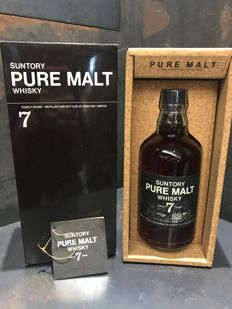 Suntory Pure Malt 7 Year Old Black Label Limited Edition