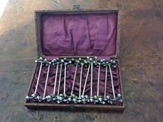 Set of 12 WMF Silverplated Dinner German Knife Rests