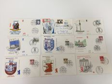 Berlin 1957/1990 - 730 FDC collection