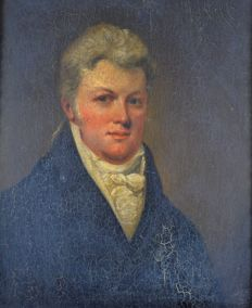 Unknown (19th century) - A portrait of a gentleman