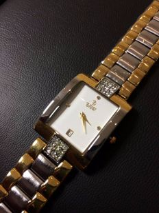Bellux 18 kt gold, women's wristwatch