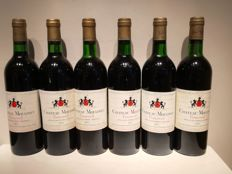 1975 Chateau Moulinet , Pomerol - 6 Bt total