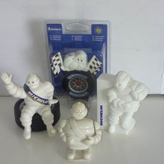 Lot of Michelin / Bibendum items from 1960s until 2000s
