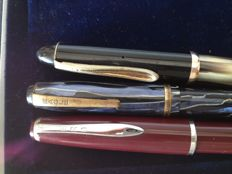 "3 very old ""Eagle"" pens - A rarity / Ero - made in Germany / unmarked"