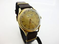 Nacar Triple Date Men's WristWatch 1940's