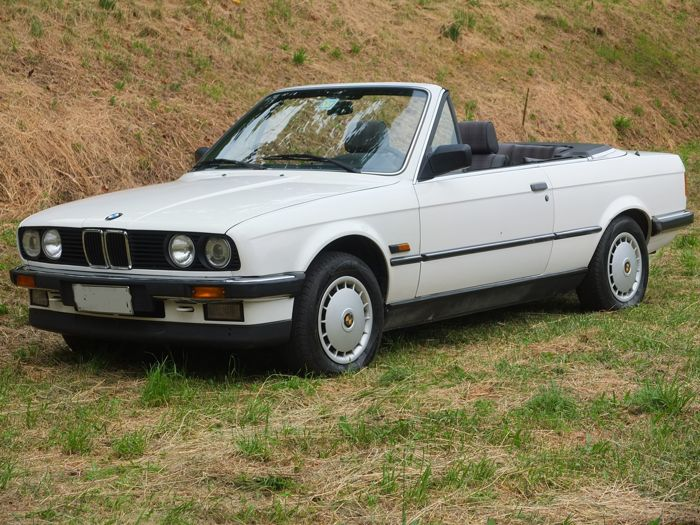 BMW - 320i Convertible - 1988