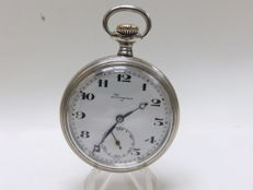 Longines. Pocket watch, Lepine and Remontoir. Year: 1918