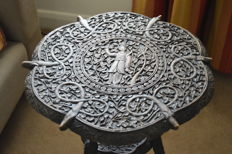 Carved Side Table - Anglo-India - 19th century