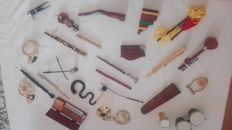 Wonderful collection of 24 miniature musical instruments