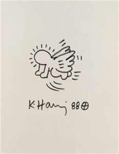 Keith Haring - Flying Radiant Baby
