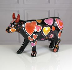CowParade - Cooween of Hearts - Medium - Andrew Forsyth