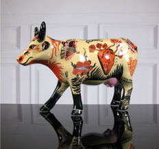 CowParade - Vaca Tattoo - Medium - Evelyn Tannus