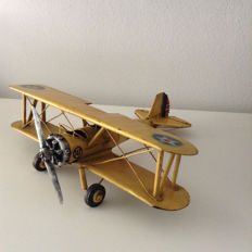 Old scale model of USA NAVY aircraft (WW1)