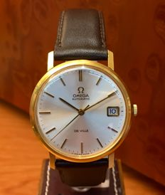Omega — De Ville. 18 kt gold. — For men — 1970 – 1979