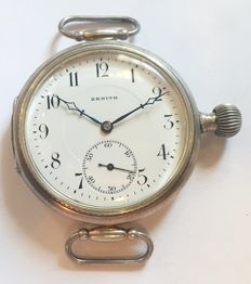 Zenith, rare mariage wristwatch, Switzerland, 1900s